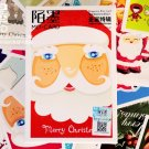 Mo-Card Merry Christmas cartoon postcards set