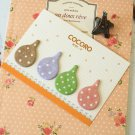 Cocoro Raindrops colourful sticky notes