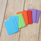 Bright Mix blank business cards