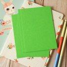 Lime Green postcard blanks
