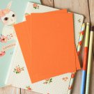 Mango Orange postcard blanks