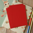Scarlet Red postcard blanks