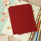Burgundy Claret Dark Red postcard blanks