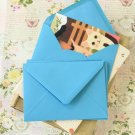 Sky Blue vintage series C6 banker envelopes