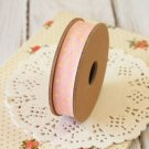 East of India Pink & Cream Polka Dots ribbon