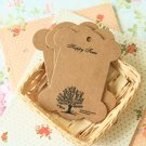 Oak Tree Kraft card spool blanks bobbins