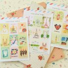 Mix Set L'apres Midi cartoon stamp stickers