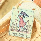 Birthday 3 East of India printed gift tags