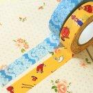 Set A Classiky Cartoon Washi Tape Set