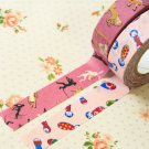 Set E Classiky Cartoon Washi Tape Set