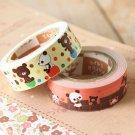Chocopa cute cartoon mini deco paper tape