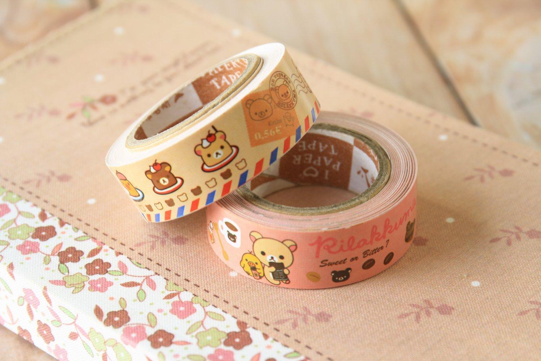 Bon Voyage cute cartoon mini deco paper tape