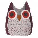 Eliza Floral Owl Pillow