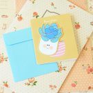 04 Succulents Bookmark & cartoon greeting card