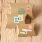 Plain Kraft Brown DIY Small pillow boxes