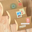 Plain Kraft Brown DIY Large pillow boxes