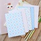 Pretty Polka Dots mix floral & deco postcard blanks