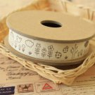 Bird & Flower cartoon cotton sewing tape ribbon
