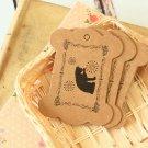 Cat Fancy Kraft Card Spool Bobbins Ver 02