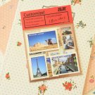 Set 03 Travellers Notebook deco stamp stickers