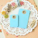 Celestial Blue petite rounded gift tags