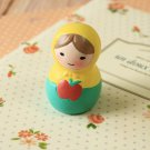 Apple Russian Doll ornament