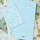 Mint Sheep Time Diary writing paper and envelopes letter set