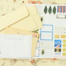 Livework Vintage Travel Envelopes & Postcards Set