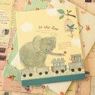Elephant O Story cartoon illustrated notebook