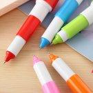 Orange Capsule Pill Pen colorful cartoon ballpen