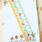 Birds Cartoon Pastel Pocket Ruler