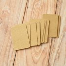 Rippled Kraft Brown blank business cards