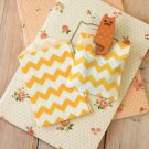 Yellow Chevron Itty Bitty Bags small paper bags