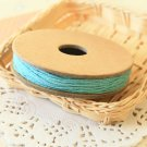 Teal Blue Solid Divine Twine 20yd string spool