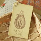Good Luck East of India printed gift tags