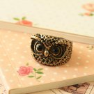 Wise Owl chunky novelty ring