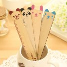 Rabbit Nana Friends cartoon animal wooden Pocket Ruler