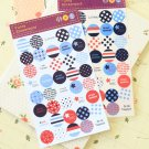 Funny Stickerworld Travel Dots scrapbooking stickers