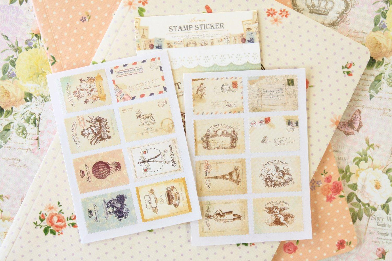 01 Atelier Ancien cartoon stamp stickers