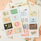 03 Feeling Ancien cartoon stamp stickers