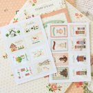 05 Homely Ancien cartoon stamp stickers