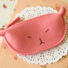 Pink Cute Cat coin bag purse