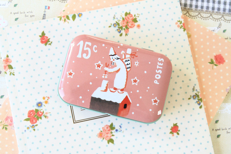 Starry Night Jeanne Monica cartoon mini tin box
