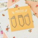 Index Clip bookmark paper clips