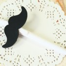 Mustache Look at Me cute cartoon ballpen