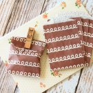 Chocolate Frosting Itty Bitty Bags small paper bags
