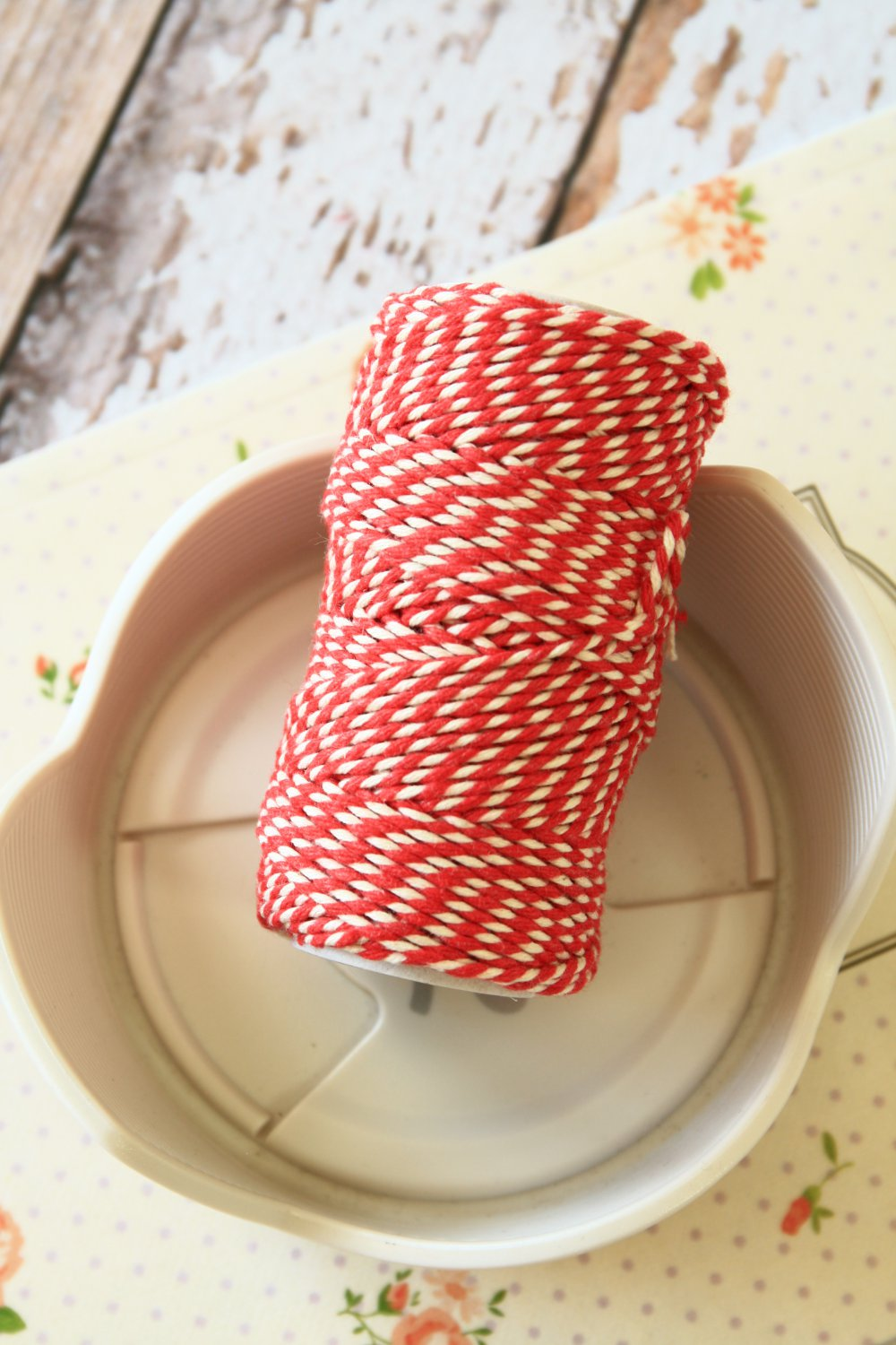 Beefeater Red 20m Everlasto Bakers Twine string spool