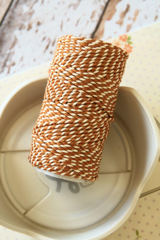 Sahara Sand Brown 20m Everlasto Bakers Twine string spool