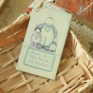 Thank You East of India printed teacher gift tags
