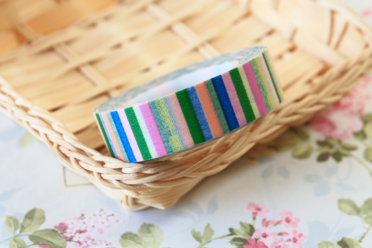 Colour Stripes fancy washi tape
